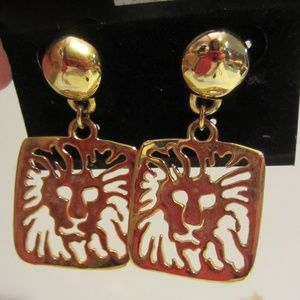 Vintage Anne Klein pierced earrings